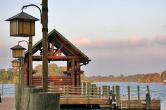 The dock at Wilderness Lodge - my 2nd home