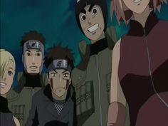 a galera de konoha dando lições ( de novo ) sobre o que é amizade , lealdade ... aqui eles ajudam Sora no ep ( ressonância ? )