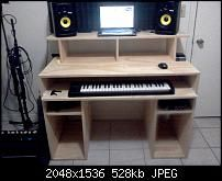 Amazing Home Recording Studio Table