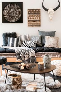 Adorable Rustic Bohemian Style Decor Idea