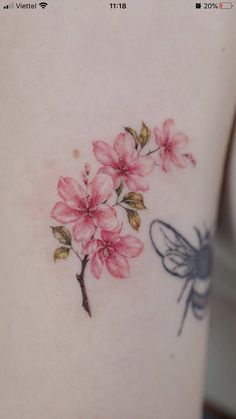 Flower Tattoo Designs, Flower Tattoos, Lotus Tattoo, Piercings, Tattoo Ideas, Tatoo, Dainty Tattoos, Female Tattoos, Ink