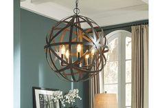Bronze Finish Cade Pendant Light by Ashley HomeStore