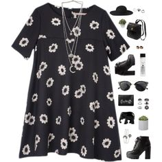 Untitled #483 by amy-lopezx on Polyvore featuring moda, Charlotte Russe, Kate Spade, Monki, Topshop, Maison Margiela, Gathering Eye, Chicnova Fashion, Koh Gen Do and The Elephant Family