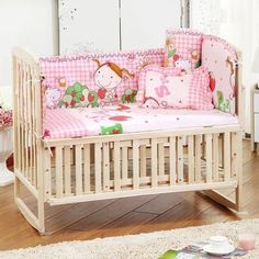 Baby Bedding Bedding Sets Reasonable 7 Pieces Lovely Baby Cot Bedding Set 3d Africa Lion Crib Bedding Cot Sheets Cuna Baby Crib Bumper Sets Unisex Quality First