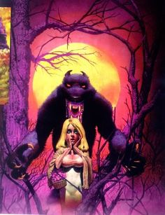 Red & the Wolf by Richard Corben