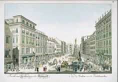The Graben Holy Roman Empire, Emperor, Hungary, 18th Century, Austria, Most Beautiful Pictures, Germany, Louvre, Street View