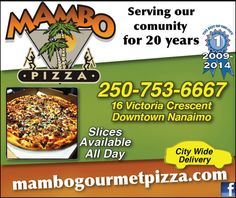 Best pizza around! Good Pizza, Vancouver Island, Coupons, Canada, Coupon