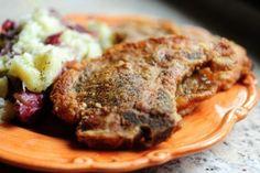 pork chops in batter