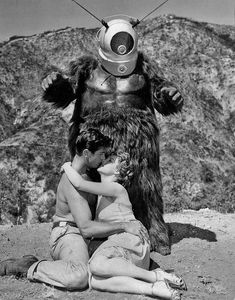 1953 ... 'Robot Monster!' Just when they thought they were alone...