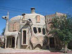 Crazy Building in Cafayate,Argentina