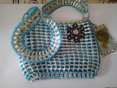 punkgoddessjayne's Pop Tab Purse Tutorial
