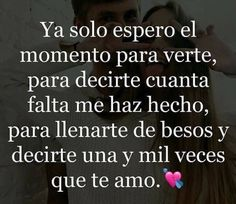 Love Spanish Love Phrases, Spanish Quotes Love, Love In Spanish, Qoutes About Love, Good Night Messages, Love Messages, Amor Quotes, Love Quotes, Love Wallpaper Backgrounds