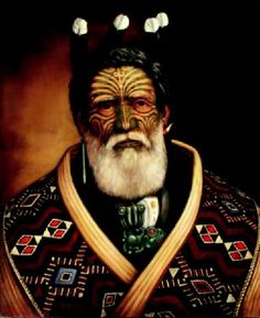 Te Takahi Puhata, Chief of the Ngati Paoa.