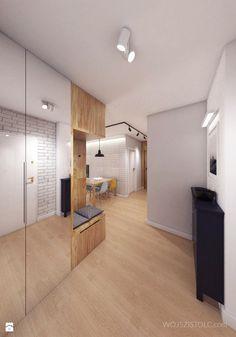 Mieszkanie - Patio Róży - Hol / przedpokój, styl skandynawski - zdjęcie od WOJSZ I STOLC