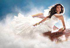 Pour Alfred Angelo, ce serait la robe de mariée de Jasmine