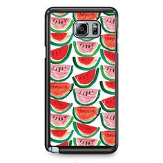Watermelon Art TATUM-11841 Samsung Phonecase Cover Samsung Galaxy Note 2 Note 3 Note 4 Note 5 Note Edge