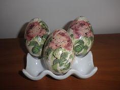 decoupage - jaja wielkanocne