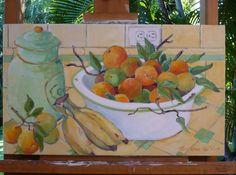 """""""Tangerines""""  (available at the Village Gallery in Lahaina Maui)"""