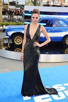 Gal Gadot attends the World Premiere of 'Fast Furious 6' at Empire Leicester Square on May 7 2013 in London England