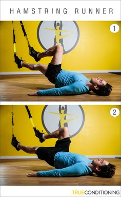 3 TRX RIP Trainer exercises + 1 TRX exercise