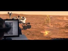 Walking on Mars w/ HoloLens [OnSight] - YouTube