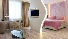 Nhow Hotel in Berlin, Germany by NPS Tchoban Voss | interior design by Karim Rashid