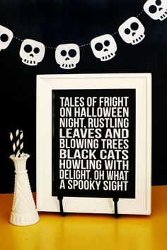 eighteen25: Tales of Fright Halloween Cut-out