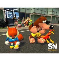 #tbt Como olvidar el día que Nintendo vendió a Rare a MS  #nintendo #sectorn #rare #ms #conker #banjokazoie