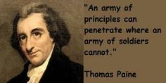 Thomas Paine was an English-American political activist, author, political theorist and revolutionary Thomas Paine Quotes, Marcus Aurelius Quotes, Philosophical Quotes, Thought Of The Day, Political Cartoons, Favorite Quotes, Image Search, Writer, Politics