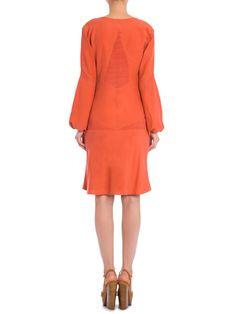 Vestido Charvet - Cris Barros - Laranja - Shop2gether
