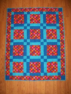 Charity quilt project on Craftsy.com