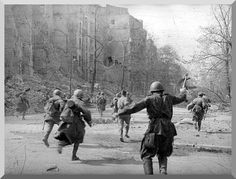 Battle For Berlin. April 1945.