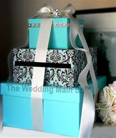 Pretty card box