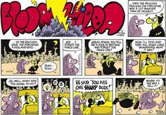 Broom Hilda Comic Strip, November 06, 2016     on GoComics.com