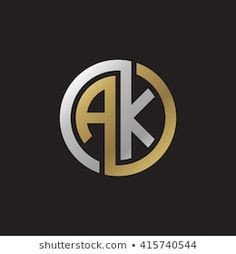 Find Ak Initial Letters Linked Circle Elegant stock images in HD and millions of other royalty-free stock photos, illustrations and vectors in the Shutterstock collection. Initial Letters, Letter Logo, Letter H Design, Dk Logo, Logo Desing, Typographic Logo, Web Design, Cool Lettering, Unique Logo