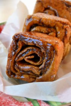 My oh my!  GFCF Cinnamon Rolls.  I think I found a new GF blog to love.