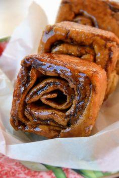 My oh my!  GFCF Cinnamon Rolls.  I think I found a new GF blog to love.
