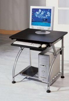 Superbe Amazon.com: Small Computer Desk With Black Finish: Home U0026amp; Kitchen
