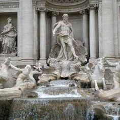 Did you know? An estimated $4,000 is thrown into the Trevi Fountain in Rome each day. The money is collected every night and given to a charity.