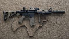 AR 15...NOT an assault rifle... It's a defense  rifle!