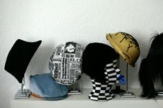 Hats by Giuseppe Tella
