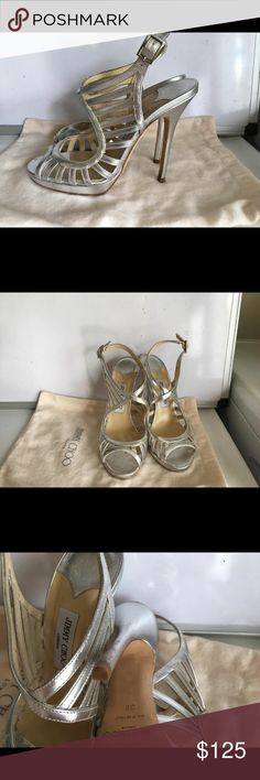 Jimmy Choo stilettos Good condition, gently worn Jimmy Choo stilettos. Size 38 Jimmy Choo Shoes Heels