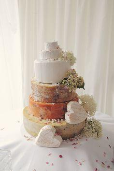 Derbyshire Cheese Wedding Cake