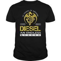 DIESEL An Endless Legend (Dragon) - Last Name, Surname T-Shirt