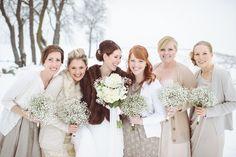DIY Winter Wedding  Read more - http://www.stylemepretty.com/2014/02/05/diy-winter-wedding/