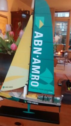 Abn-amro modelboot Volvo ocean race :)