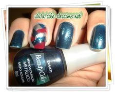 Braided Nails, with Beauty Color Nail Polish  www.ale-dreams.net