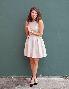 dress up buttercup blog foil dress womans fashion                                                                                                                                                                                 More
