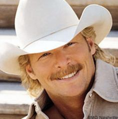 Alan Jackson. What a smile and what a voice that can sing!!!
