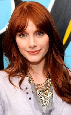 Bryce Dallas Howard - lovely ginger who's the daughter of another awesome ginger: Opie!